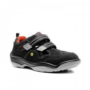 El zapato de seguridad SUSAN ESD S1 es una sandalia de seguridad de la serie ELTEN NOVA-F.